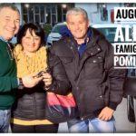 Toti Costanzo consegna le chiavi della auto nuova alla famiglia di Biagio Pomillo