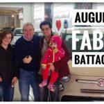 Fabio Battaglia e la sua splendida famiglia.