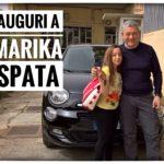 Consegna della nuova 500x a Marika Spata