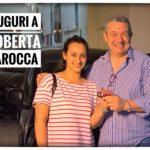 Toti Costanzo consegna le chiavi dell'auto nuova a Roberta Larocca
