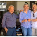 Famiglia Antoniuccio consegna chiavi 500x