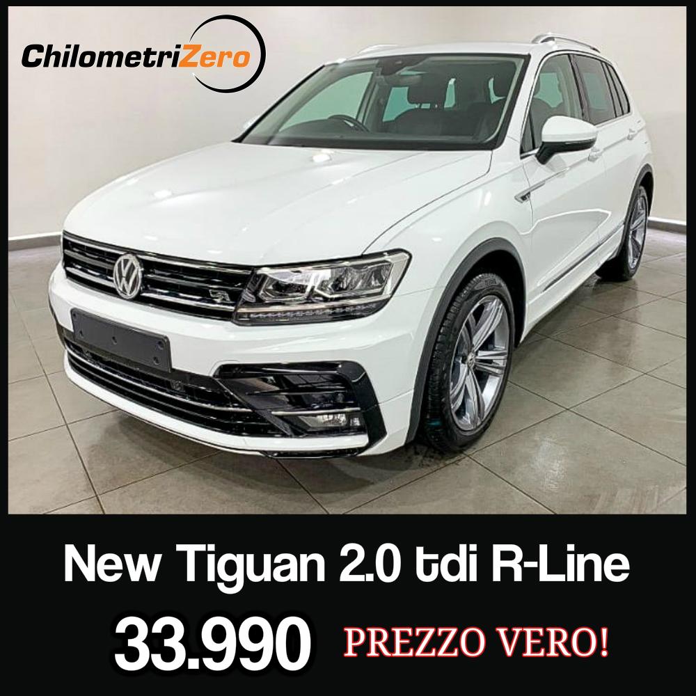 AUTO NEW TIGUAN R LINE KM0 BIANCA