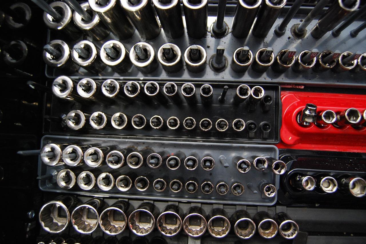 toolbox, socket, repair